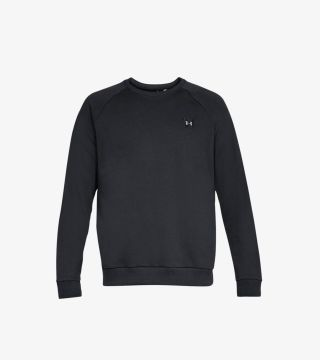 RIVAL FLEECE CREW BLACK