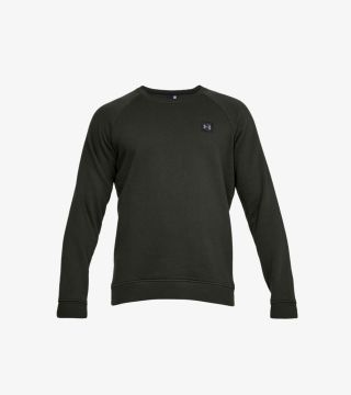 RIVAL FLEECE CREW GREEN