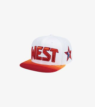 SUNRISE SNAPBACK ALL-STAR WHITE