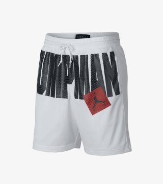 JUMPMAN AIR MESH SHORT WHITE