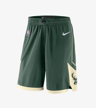 BUCKS ICON SWINGMAN SHORT