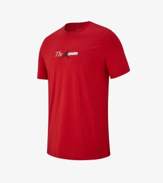 JORDAN THE MAN TEE GYM RED