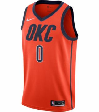 WESTBROOK EARNED SWINGMAN JERSEY