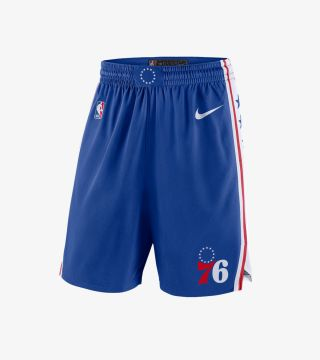 SIXERS ICON SWINGMAN SHORT