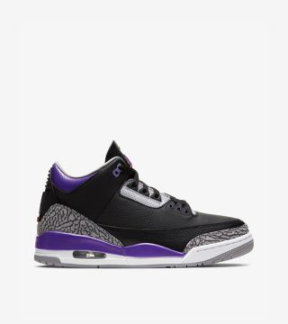 JORDAN 3 COURT PURPLE