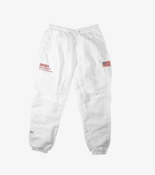 NASA SPORTS TRACK PANTS WHITE