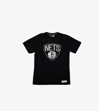 TAILORED TEE BROOKLYN NETS BLACK