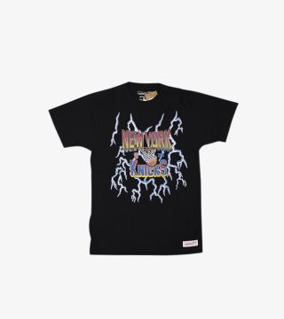 KNICKS NBA LIGHTNING TEE