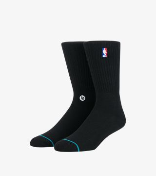 NBA LOGOMAN CREW II SOCKS BLACK