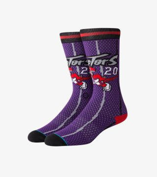 DAMON STOUDAMIRE 96 RAPTORS SOCKS