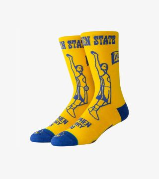 CURRY STENCIL SOCKS