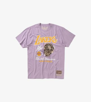LAKERS PASTEL RINGS TEE