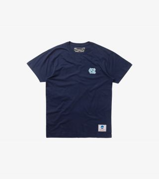 NORTH CAROLINA EMBROIDERED TEE