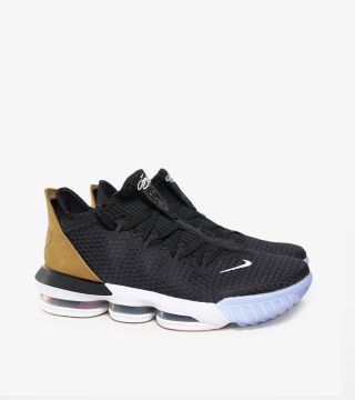 LEBRON 16 LOW BLACK TAN