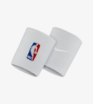NBA WRISTBAND WHITE