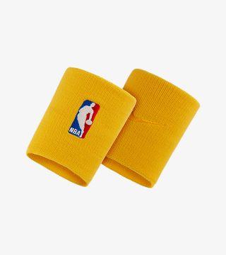 NBA WRISTBAND YELLOW