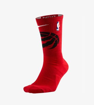 RAPTORS NBA ELITE CREW SOCKS