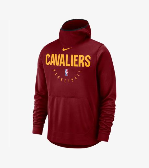 NIKE NBA CLEVELAND CAVALIERS SPOTLIGHT HOODIE TEAM RED per