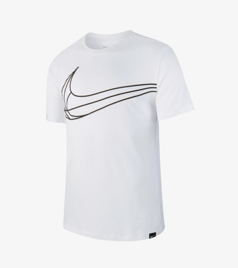 9aa05e36 SWOOSH BASKETBALL TEE | Nike | AJ9651-100 | Double Clutch