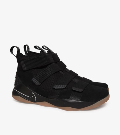 buy online aa46a 18182 LEBRON SOLDIER XI BLACK GUM | Nike | 897644-007 | Double Clutch