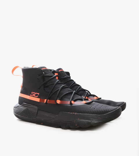 sale retailer e0ddc ee71b CURRY 3ZERO II BLACK   Under Armour   3020613-002   Double Clutch