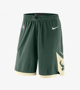 BUCKS ICON SWINGMAN SHORTS