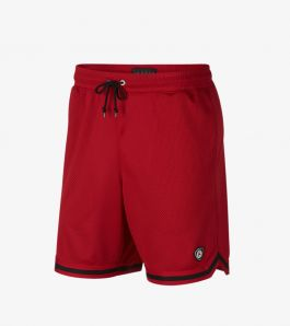 LAST SHOT MESH SHORT GYM RED