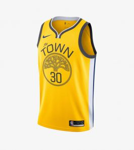CURRY EARNED SWINGMAN JERSEY