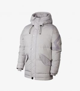 WINGS DOWN PARKA GREY