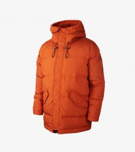 WINGS DOWN PARKA DARK RUSSET