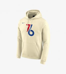 76ERS CITY EDITION LOGO HOODIE