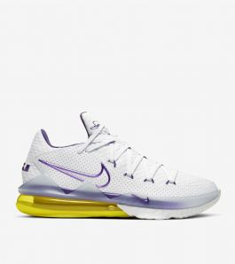 LEBRON 17 LOW LAKERS