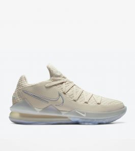 LEBRON 17 LOW LIGHT CREAM