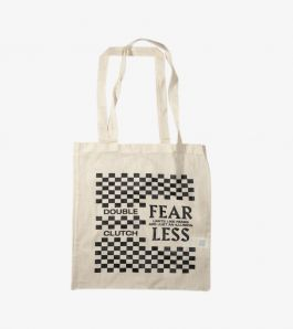 DOUBLE CLUTCH FEARLESS TOTE BAG