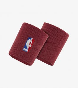 NBA WRISTBAND TRUE RED