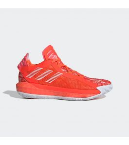 DAME 6 HECKLERS SOLAR RED