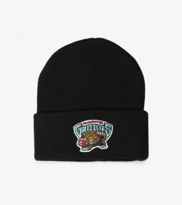 GRIZZLIES TEAM LOGO CUFF KNIT