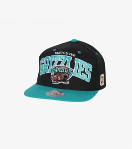 GRIZZLIES TEAM ARCH 2TONE SNAPBACK