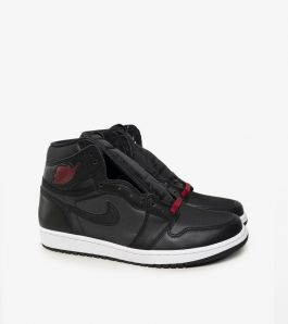 JORDAN 1 BLACK SATIN GS