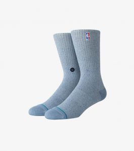 NBA LOGOMAN BB SOCKS BLUESTEEL
