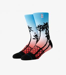 NBA LOGOMAN PALMS SOCKS