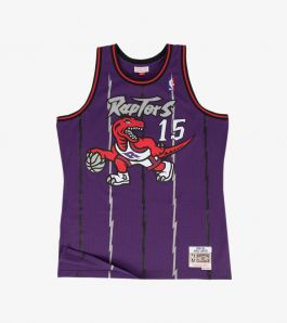 CARTER 98/99 RAPTORS SWINGMAN JERSEY