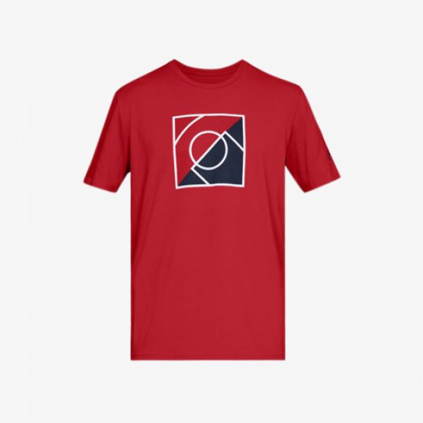 TOP OF THE KEY TEE RED