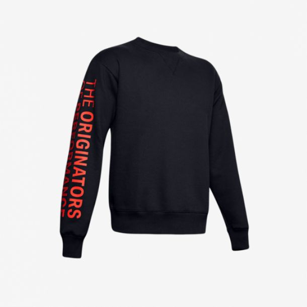 ORIGINATORS FLEECE CREW BLACK