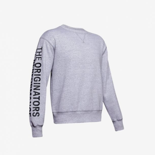 ORIGINATORS FLEECE CREW GREY