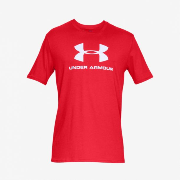 SPORTSTYLE LOGO TEE RED