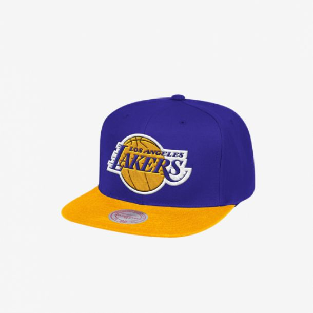 LAKERS TEAM LOGO 2 TONE SNAPBACK