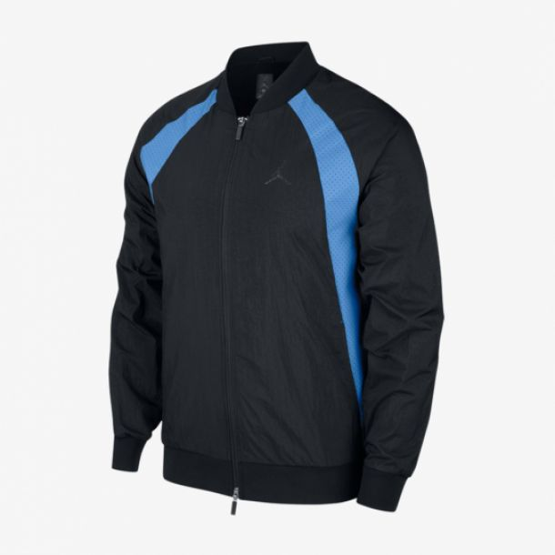 JORDAN WINGS JACKET BLACK/BLUE