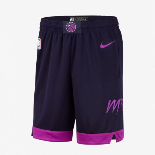 TIMBERWOLVES CITY EDITION SWINGMAN SHORT
