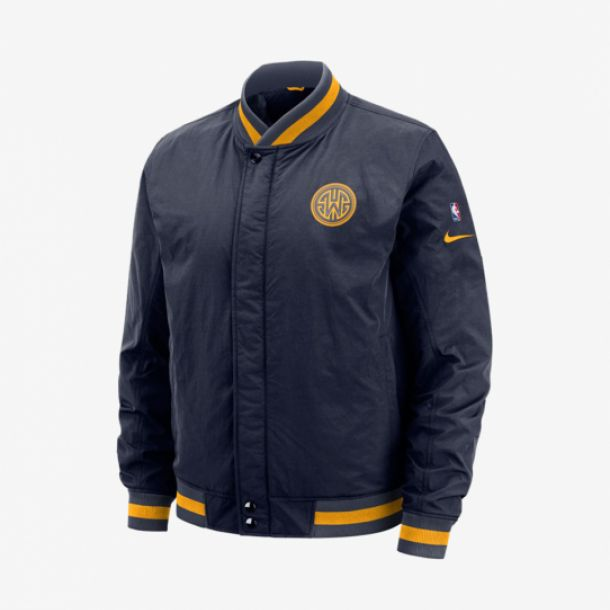 WARRIORS COURTSIDE JACKET